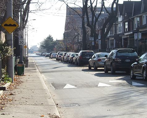 20061124_Booth_Ave_speed_bump.jpg