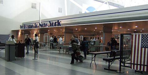 JFK Terminal 9 security