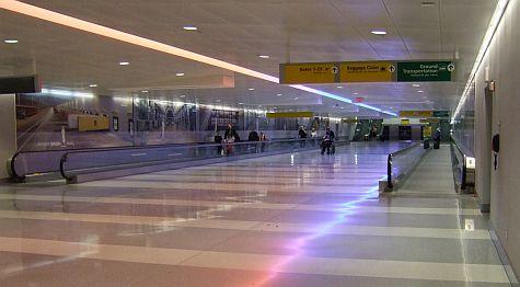 JFK Terminal 9 underpass