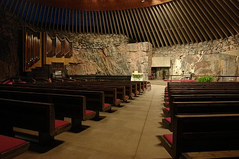 Rock Church interior