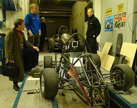 Formula Engineering car, Stadia
