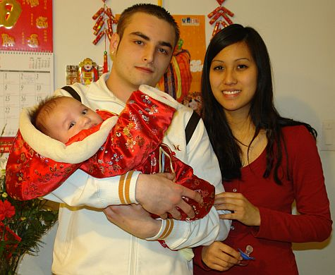 One year old (by Chinese New Years)