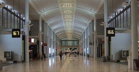 Pearson Terminal 1 U.S. gates