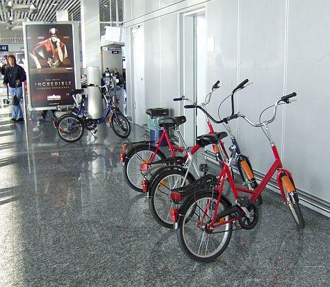Bikes, Frankfurt airport