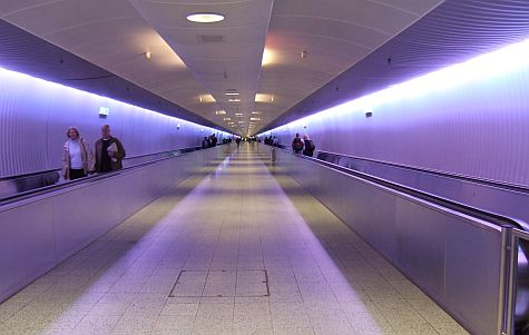 Tunnel, Frankfurt airport