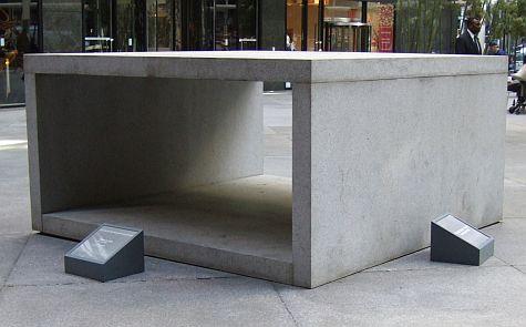 Cooler sculpture, 590 Madison