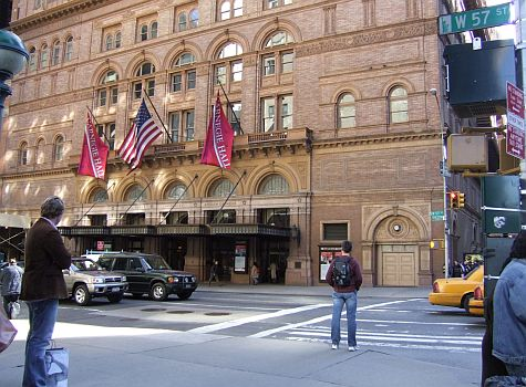 Carnegie Hall, 59th Street
