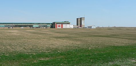 Large fields at Downsview Park