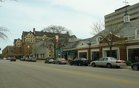 Chicago Avenue and Church Street, Evanston