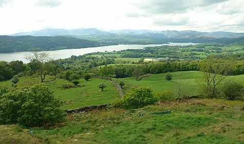 Orrest Head facing nw Lake Windermere