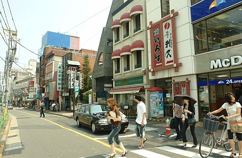 20070804_Ookayama_street_west_of_station.jpg