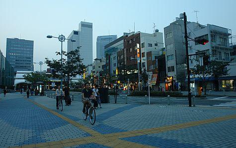 20070804_Tamachi_station_street_east.jpg