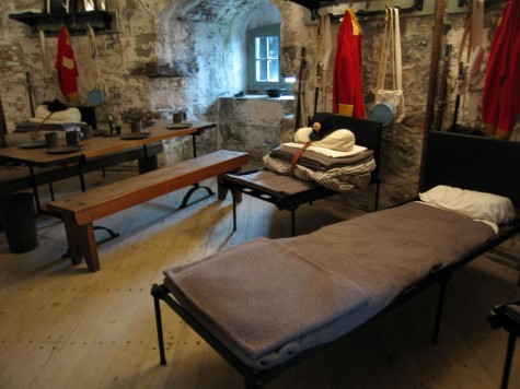 DI_20081002 104554 SaintJohn CarletonMartelloTower barracks cots